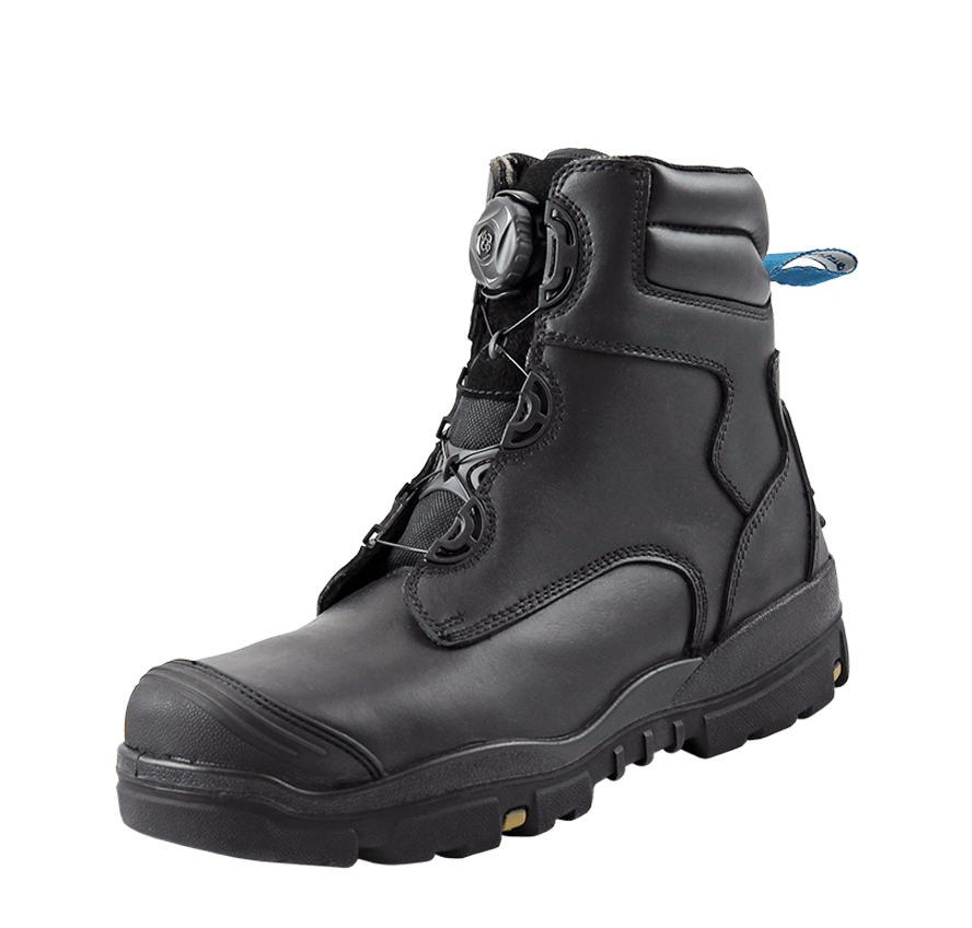 Longreach Black Boa Safety Shoe
